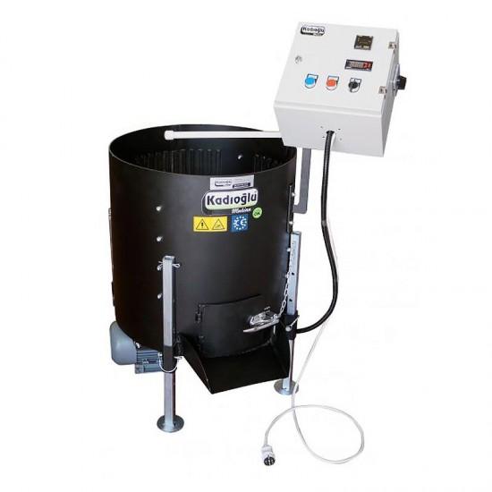 Kadıoğlu Devir Ayarlı Çelik Aşındırıcılı Ceviz Soyma Makinesi 170 Litre