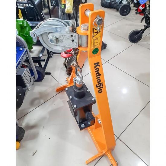 Kadıoğlu Vibrope X Şanzımanlı Halatlı Silkeleme Makinesi