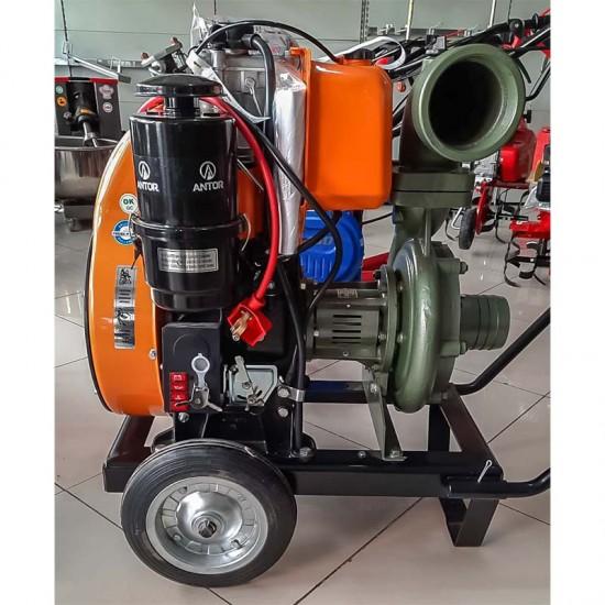 Antor 4LD820 LY3 Dizel Marşlı Su Motoru 17 hp