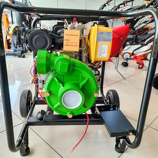 Datsu DDYP 80 CLE 3 Marşlı Dizel Yüksek Basınçlı Su Motoru