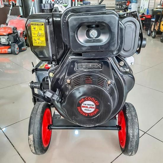 Solax WP80-DHE Dizel 3lük Yüksek Basınçlı Marşlı Tekerlekli Su Motoru