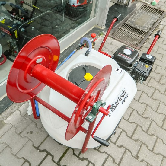 Bartech PM100 Pulverizatör - Benzinli İlaçlama Makinesi - Arabalı - 100 Litre
