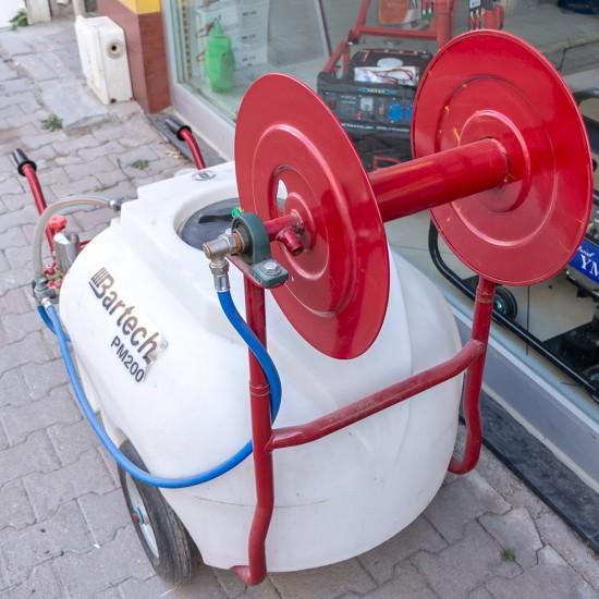 Bartech PM200 Pulverizatör - Benzinli İlaçlama Makinesi - Arabalı - 200 Litre