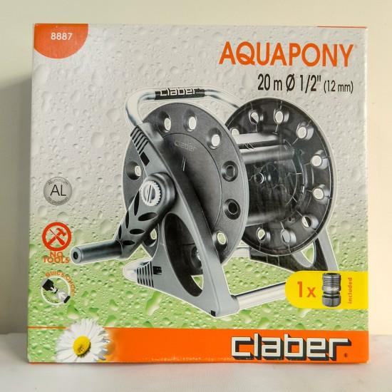 Claber 8887 Aquapony Hortum Makarası