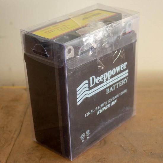 Deeppower 12v5ah (12 Volt - 5 Ampersaat) Motosiklet Aküsü - Dik