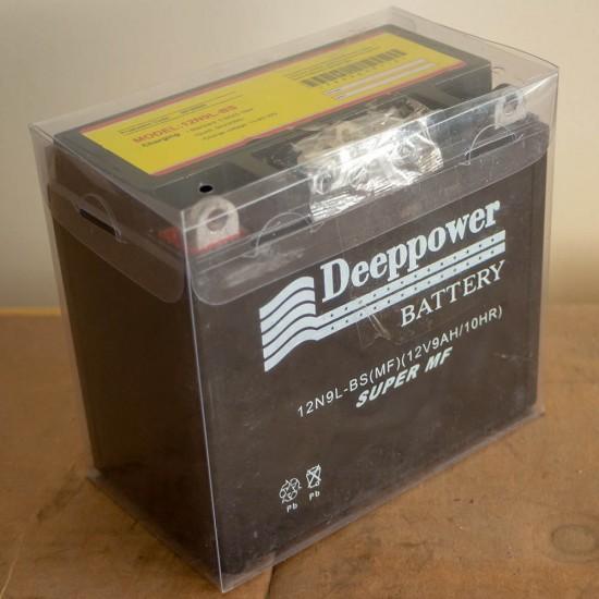 Deeppower 12v9ah (12 Volt - 9 Ampersaat) Motosiklet Aküsü - Dik