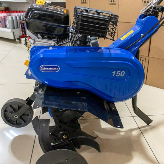 Demirtay DT150 Benzinli Çapa Makinesi - Zongshen ZS168FB Motorlu - 6.5 Hp