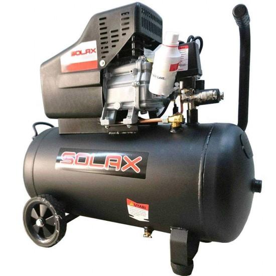 Solax HM2050B Hava Kompresörü - 50 Litre - 2 Hp