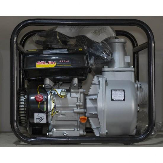 Solax P30-3 Benzinli 3 Su Motoru - 6.5 Hp
