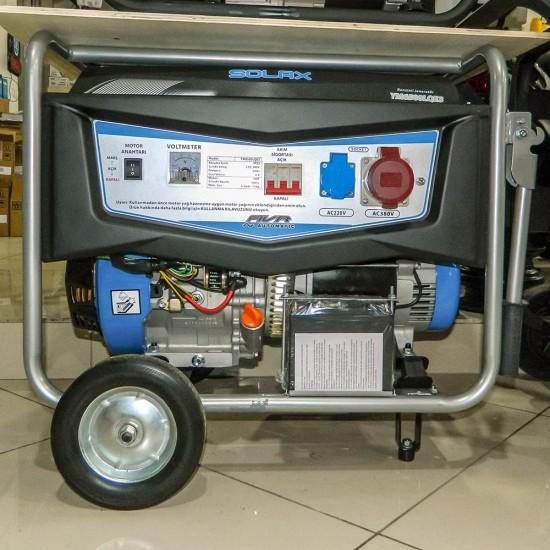 Solax YM6500LQE3 Benzinli Jeneratör - Marşlı - monofaze - 6.8 kVa
