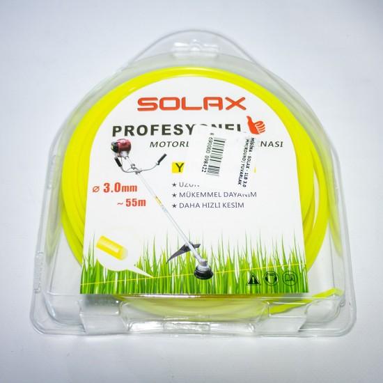 Solax Yuvarlak Misina (Tırpan İpi) - 3.0 mm - 55 Metre
