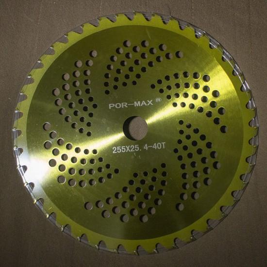 Tırpan Elmas Uçlu Daire Testere (Motorlu Tırpan Bıçağı) - 40 Diş